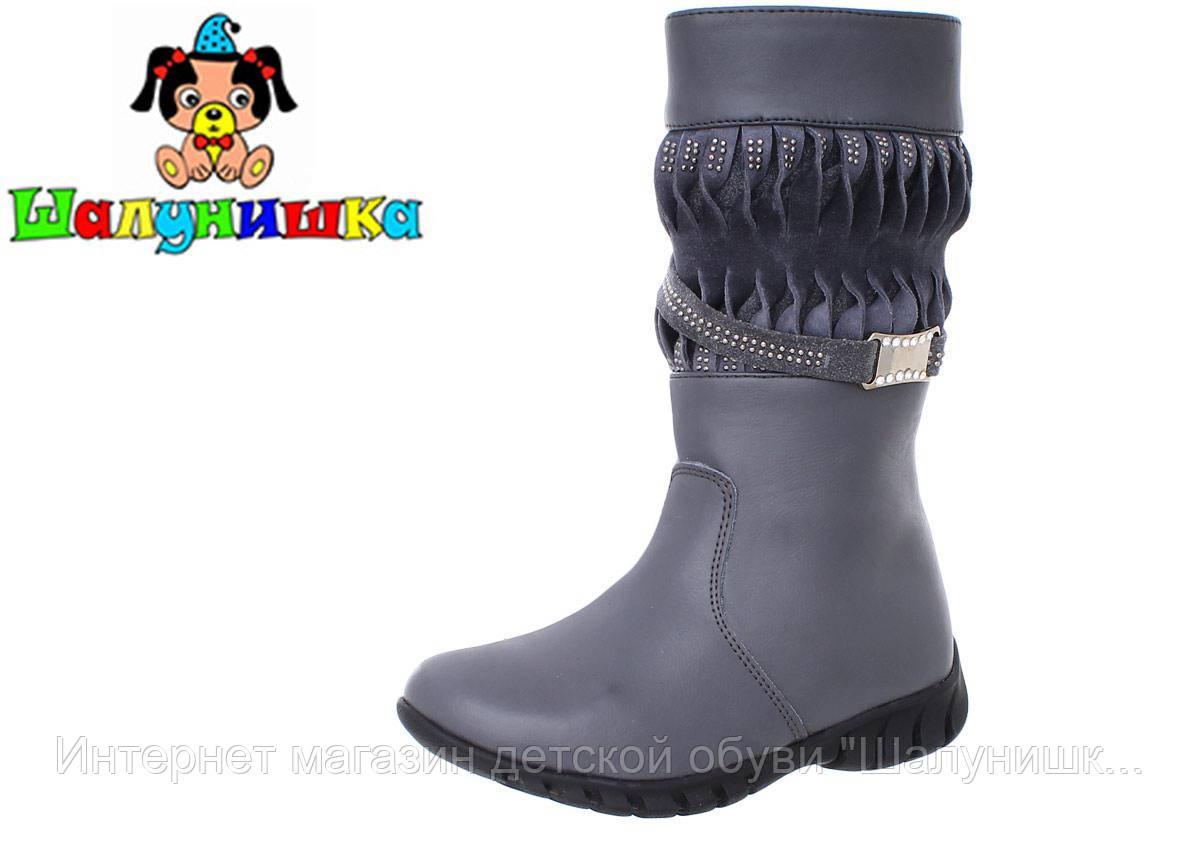 Зимние сапоги для девочки 8092