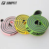 Резиновые петли,петли для подтягивания JUMPFIT Pro set набор из 3хпетель