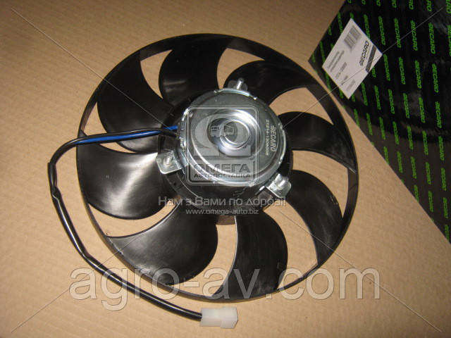 Электровентилятор охл. радиатора (21214-1308008) ВАЗ, НИВА <DECARO>