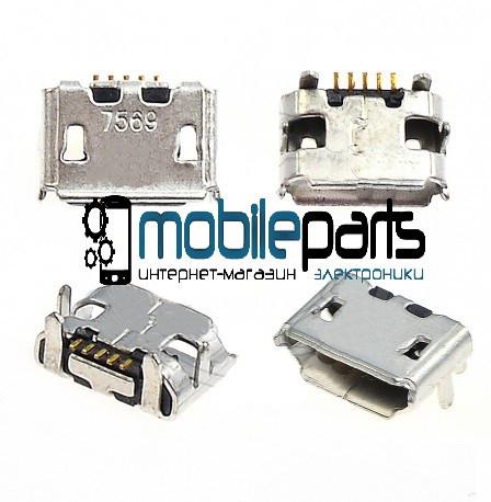 Коннектор зарядки Fly DS106 | DS116 | IQ235 | IQ237 | IQ238 | IQ255 | IQ256 | IQ445 | IQ450 | IQ450Q
