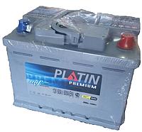 Автомобильный аккумулятор PLATIN Premium 6CT- 60Aз 600A R SMF (h=175)