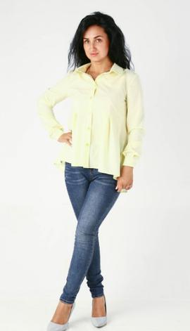 """Классическая женская рубашка """"Кира"""" размеры 42,44,46,48, фото 2"""
