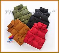 Под заказ жилеты утеплённые стёганные (от 50 шт.), фото 1