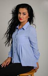"""Классическая женская рубашка """"Карина"""" размеры 42,44,46,48"""