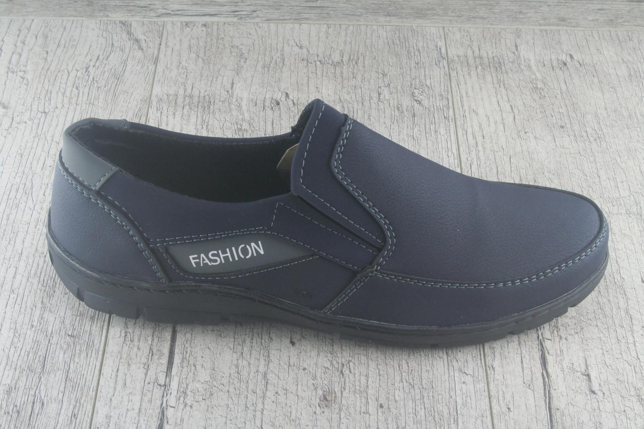 Туфли, мокасины, без шнурков Paolla, обувь мужская осенняя, повседневная, Украина