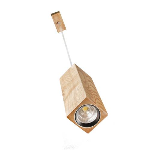 Сube VL-LED 7W З WOOD Підвісний світильник світлодіодний з дерева