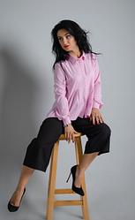 """Классическая женская рубашка """"Карина"""" размер 46"""