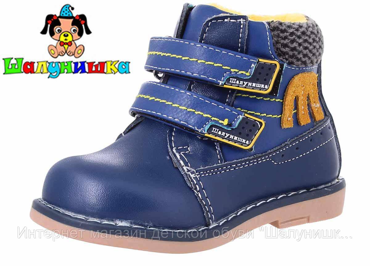 Демисезонные ботинки для мальчика 7313