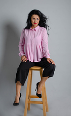 """Классическая женская рубашка """"Карина"""" размер 46, фото 3"""