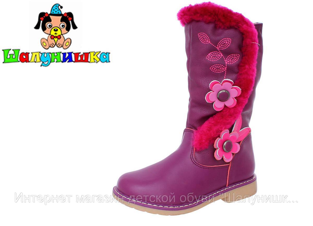 Зимние сапоги для девочки 7451