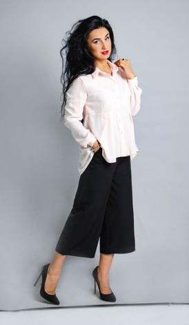 """Классическая женская рубашка """"Карина"""" размеры 46,48, фото 2"""