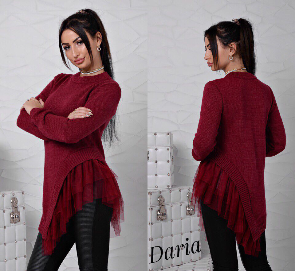 Модний светр - туніка   продажа c0cf577c77a77