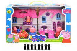 """Будинок для героїв """"Свинка Пеппа"""" (коробка) YM-332"""