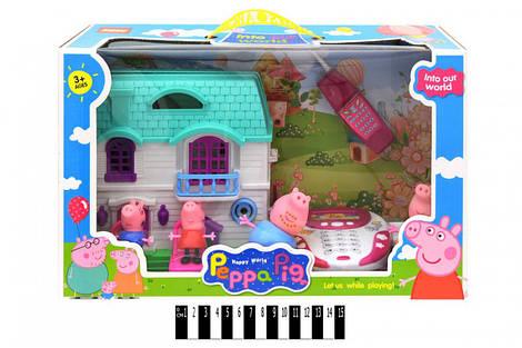 """Будинок для героїв """"Свинка Пеппа"""" (коробка) YM-331"""