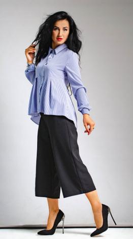 """Класична жіноча сорочка """"Каріна"""" розміри 42,44,46,48, фото 2"""
