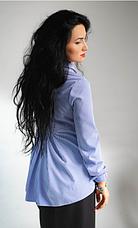 """Класична жіноча сорочка """"Каріна"""" розміри 42,44,46,48, фото 3"""