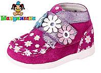 Демисезонные ботинки для девочки 100-7, фото 1