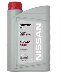 Масло моторное Nissan Motor Oil 5W-40 1л (KE900-90032)