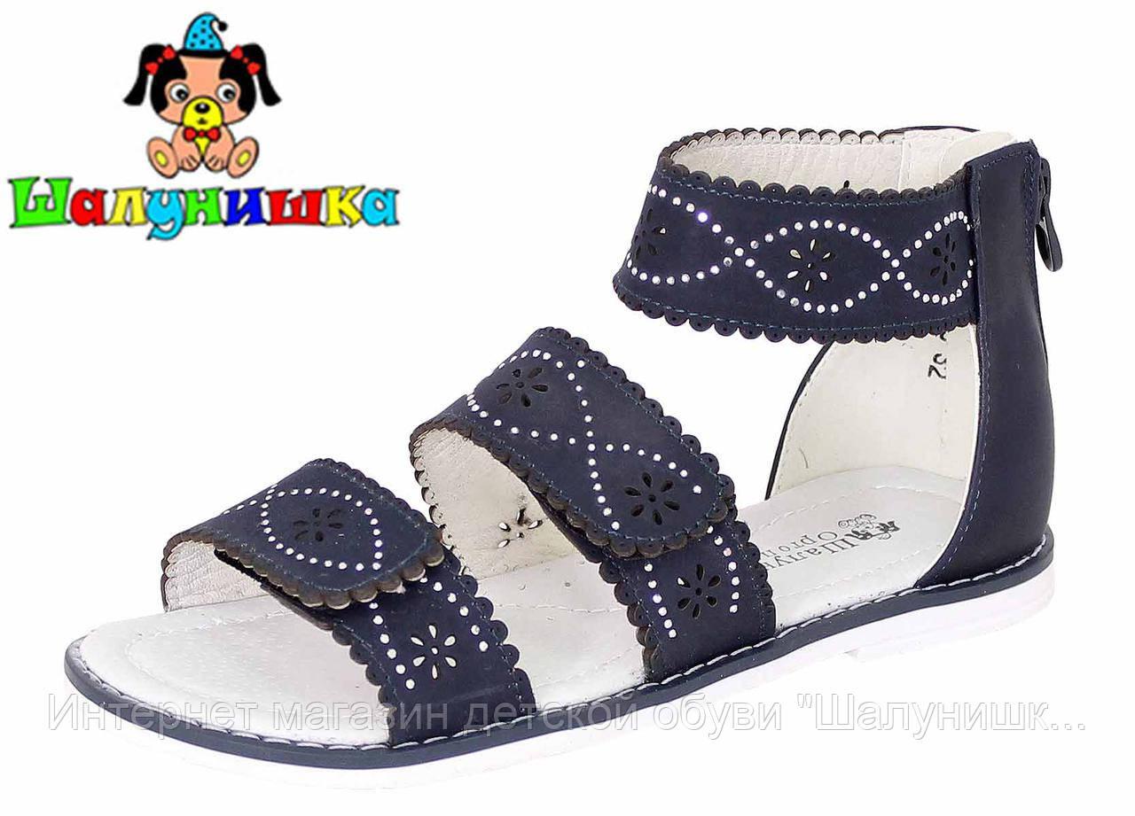 Летние сандалии для девочки 100-313