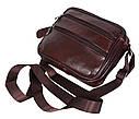 Мужская кожаная сумка BON2355-1 коричневая, фото 9