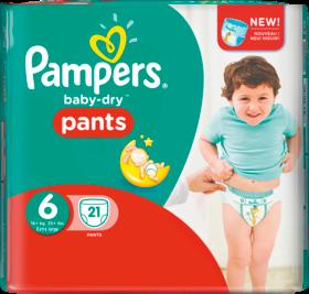 """Подгузники - трусики для детей """"Pampers baby-dry pants """"унисекс 6 (15+ кг.)(38 шт.)"""