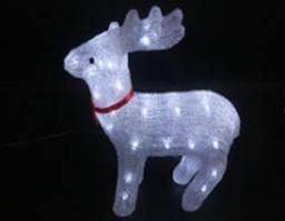 Акриловый олень с подсветкой Lumion 40 led 33х12х35мм