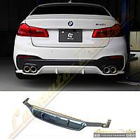 Диффузор стиль 3D-design для BMW G30, фото 1