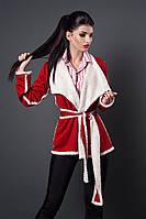 Кардиган мод 254-1 размеры 40,44,46,48 красный
