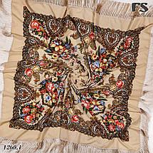 Павлопосадский большой платок Март, фото 2