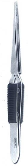 Пинцет обратный прямой 16 см (Пакистан) Гладка ручка NaviStom