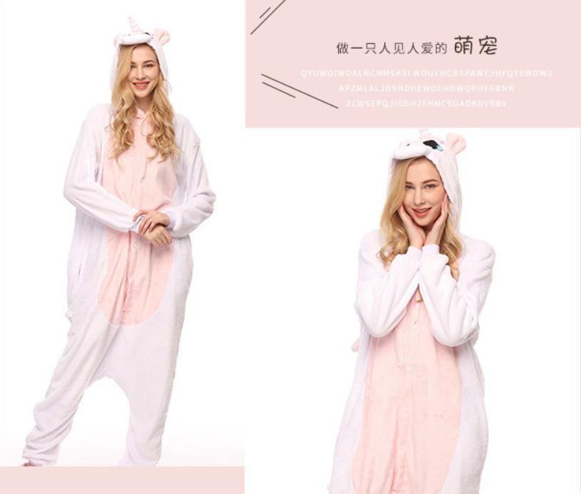 Пижама-кигуруми единорог белый с розовой грудкой  продажа 63b4bbb676a70