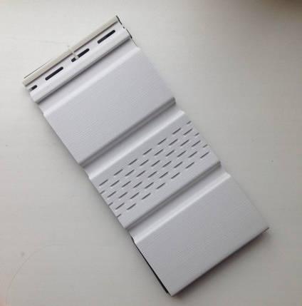 Карнизная подшивка АйДахо - белый (с перфорацией и без), фото 2