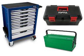 Візки інструментальні, ящики, інструментальна меблі