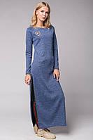 Женское Платье под леггинсы или джинсы, фото 1