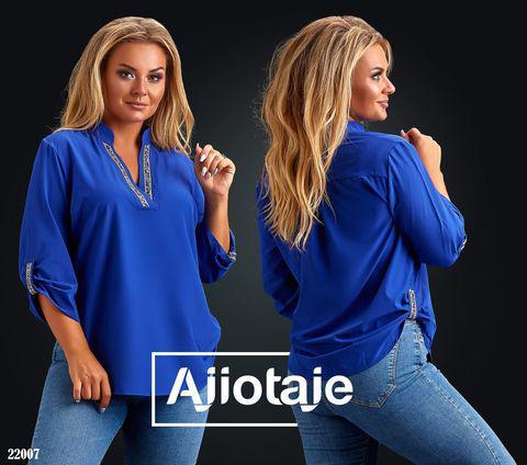 Легкая блуза с укорочённым рукавчиком