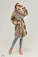 Женское короткое пальто зимнее Пв-32 к ех, фото 1