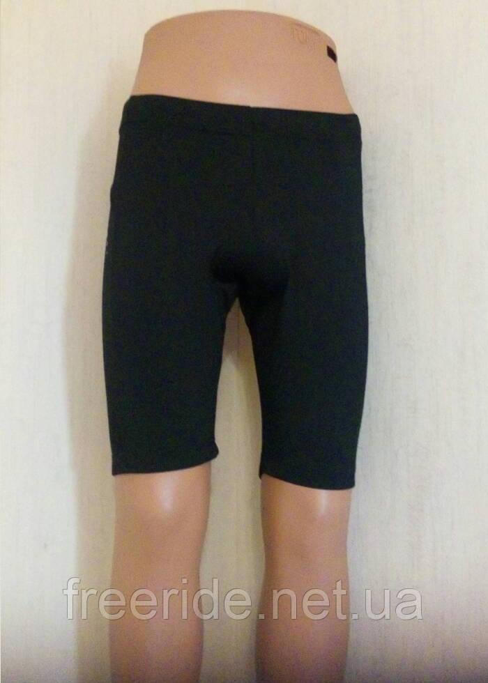 Велошорты женские CRIVIT с памперсом 0,8см (M) 40-42