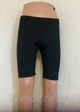 Велошорты женские CRIVIT с памперсом 0,8см (M) 40-42, фото 2