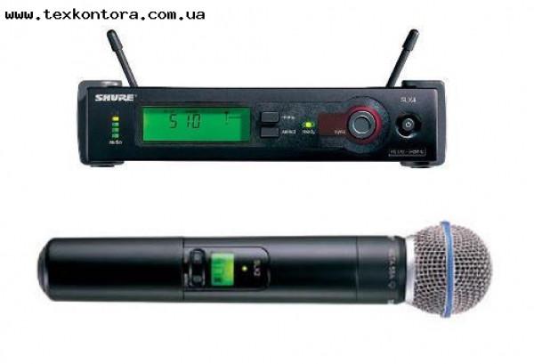 Микрофонная Радиосистема SHURE Beta 58A-SLX4