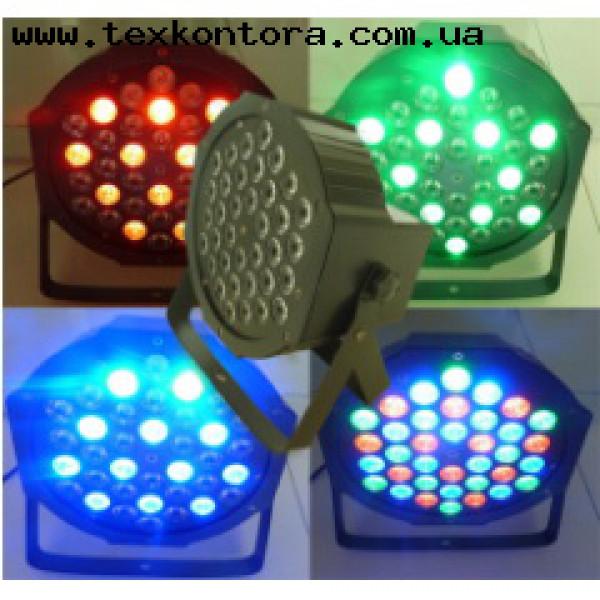 Прожектор на светодиодах SLIM PAR 36*3W