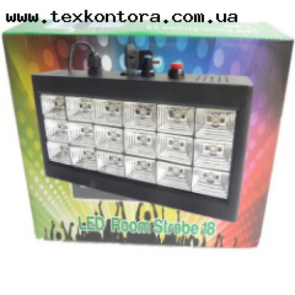 Стробоскоп на светодиодах STROB 18*3W-WHITE