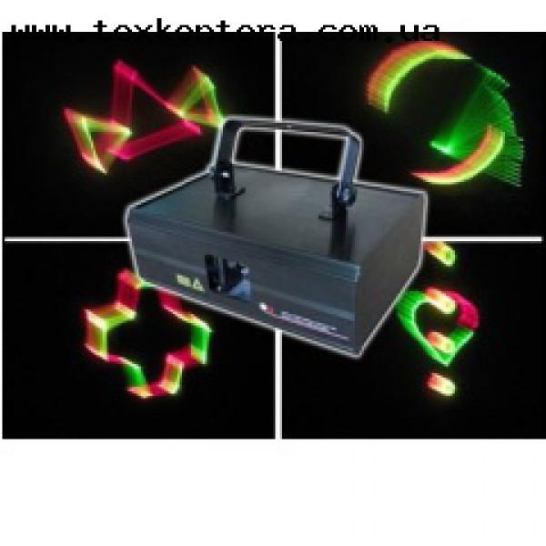Полноценный 3D лазер BE3D300RGY