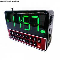Радиоприемник с большим экраном, часы, MP3, WS-1513