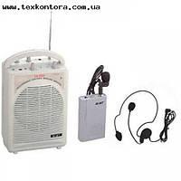 Колонка на аккумуляторе радио-микрофон гарнитура и петличный SH888