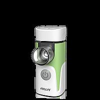 Небулайзер Feellife Air Pro 4 MESH ингалятор ультразвуковой (green) с музыкальным сопровождением, фото 1