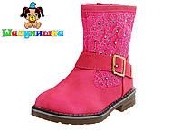 Демисезонные ботинки для девочки 300-306 фук, фото 1