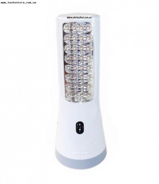 Фонарь светодиодный аккумуляторный 1W -32 Led