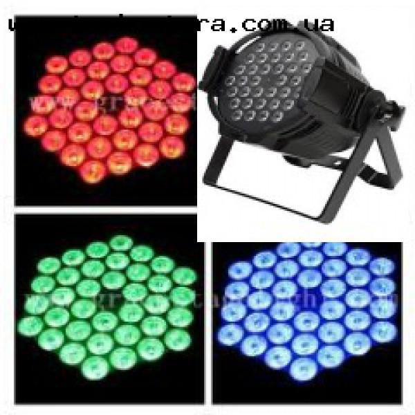 Светодиодный LED прожектор ALUMINIUM PAR 36*5W ( 3in1)