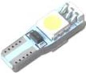 Led Лампа T5-5050-3шт 12V белый