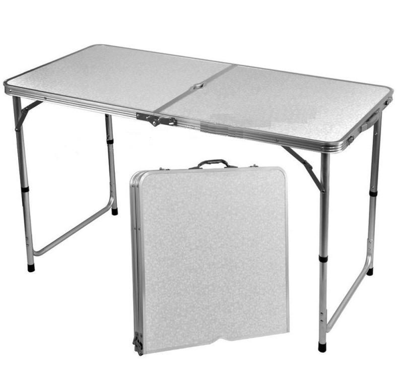 Стол для пикника (Чемодан) - Белый
